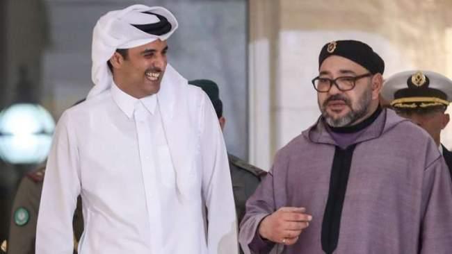 الملك محمد السادس يواصل دعم قطر وهذا ما قاله للشيخ تميم