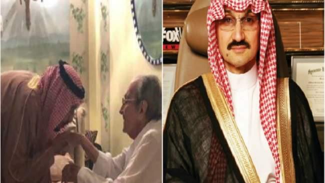 زاره الملك وقبّل يده..الأمير الأحمر مُضرب عن الطعام احتجاجاً على اعتقال 3 من أبنائه