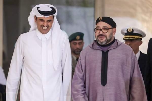 مضامين رسالة خطية من محمد السادس إلى أمير قطر