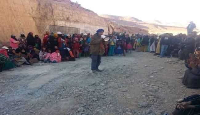 السلطات تعتقل 11 شخصا بورش إنجاز سد تودغى بإقليم تنغير