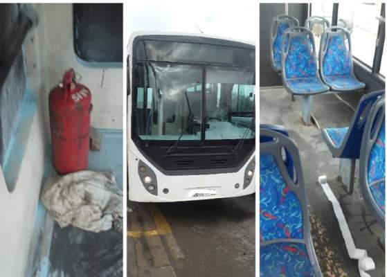 شاب هائج يهاجم حافلة للنقل الحضري بالجديدة ويهدد ركابها بقنينة إطفاء