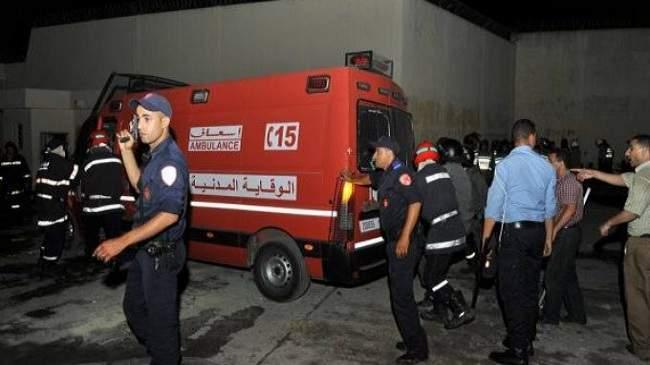 إطلاق الرصاص لإيقاف شخص هدد عناصر الأمن ومواطنين بقنينة غاز بمراكش