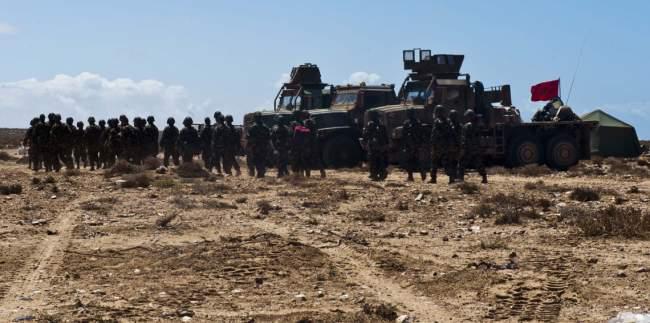 عملية عسكرية واسعة للجيش المغربي على الحدود مع موريتانيا