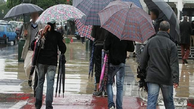 طقس الأربعاء: زخات مطرية وأحيانا رعدية في بعض مناطق المملكة