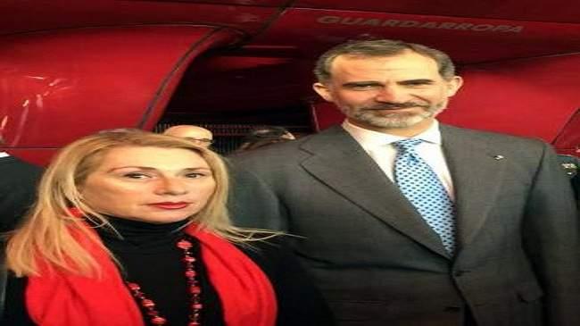 ملك إسبانيا يستقبل عائلات ضحايا هجمات البوليساريو الإرهابية
