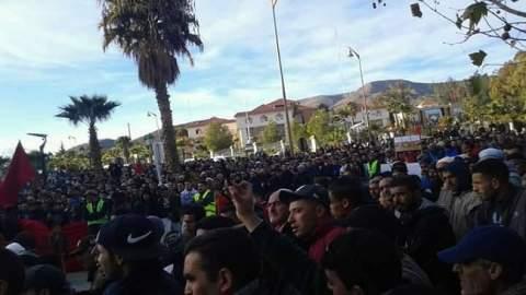 الاحتجاجات متواصل في جرادة وسط فشل كل مبادرات الحكومة