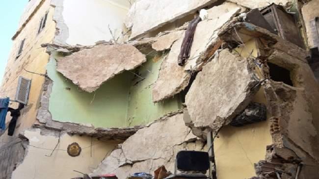 اصابة ثلاثة أشخاص في حادث انهيار منزل بفاس