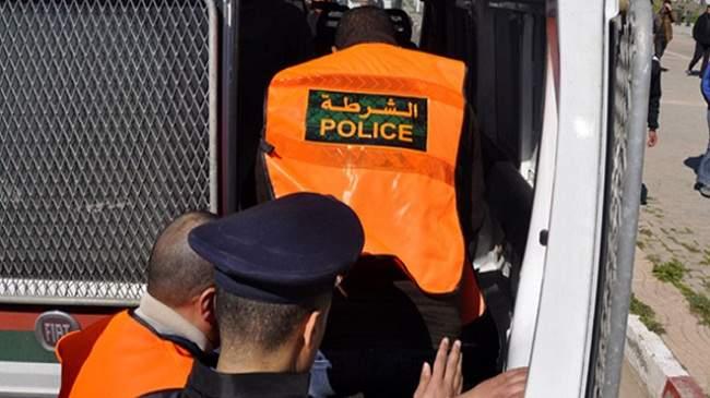 الأمن يوقف شرطيا مزيفا في مباريات