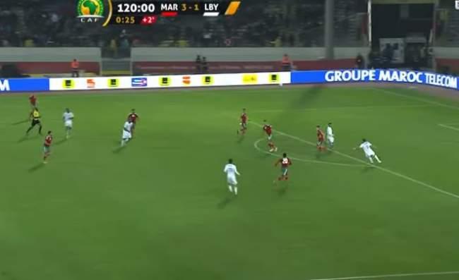 عاجل.. الأسود يعبرون إلى نهائي الشان بثلاثية على حساب ليبيا