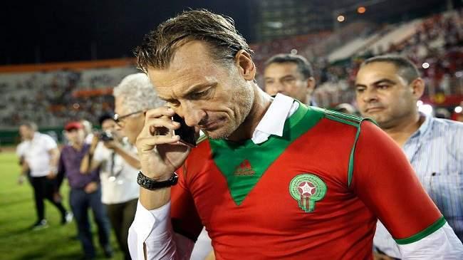 رونار يتوقع فوز المغرب بتنظيم المونديال ويكشف إمكانية استدعاء لاعبين محليين