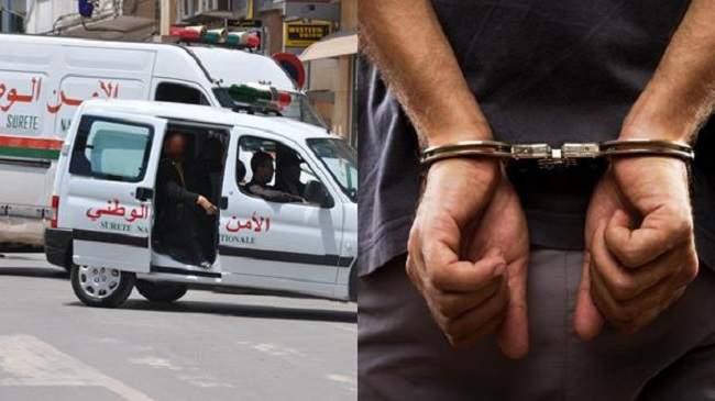 اعتقال متورط في الاعتداء على أستاذة بقلعة السراغنة وفي حوزته سلاحا ناريا