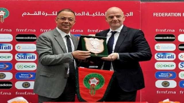"""بعد موقفه المنحاز ضد المغرب.. فضيحة جديدية تطال """"الفيفا"""" بسبب مونديال 2026"""