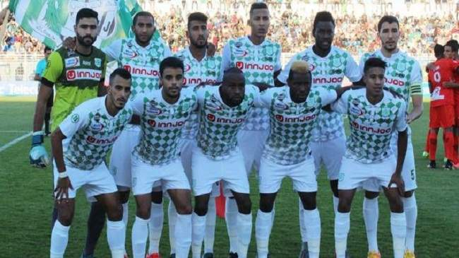 الدفاع الحسني الجديدي يفوز بميدانه على فيتا كلوب الكونغولي