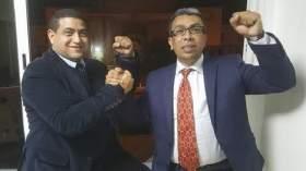 القاضي المعزول محمد الهيني ينصب نفسه للدفاع عن المهداوي والأخير يرد