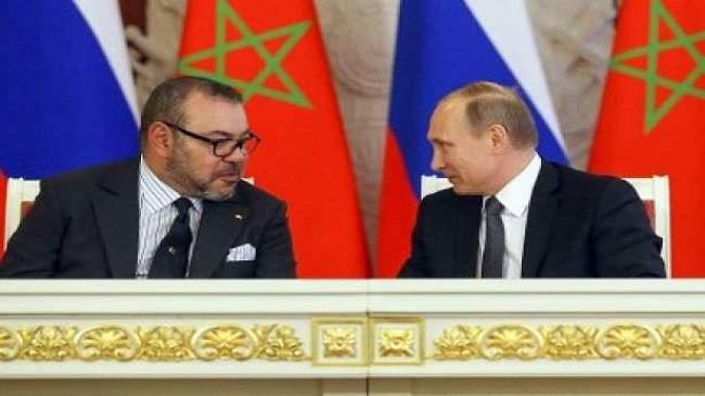 رسالة من الملك محمد السادس إلى فلاديمير بوتين