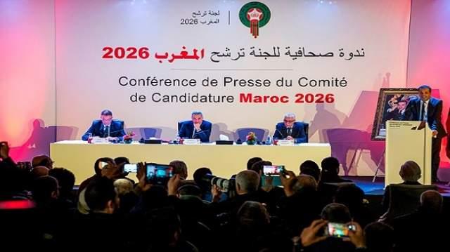بالصور..دولة وازنة ومؤثرة تعلن رسميا التصويت لملف المغرب لمونديال 2026