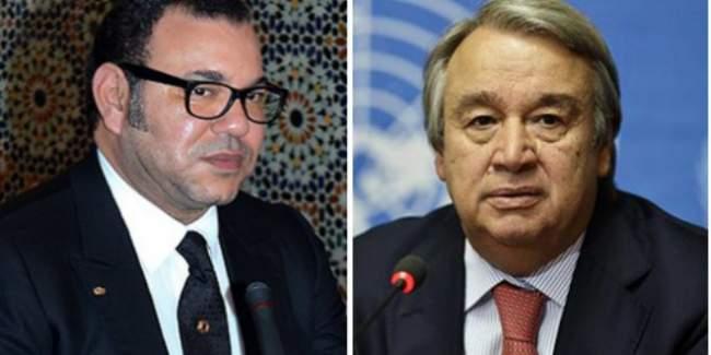 """لأول مرة يشير الأمين العام للأمم المتحدة إلى خطاب الملك وهذا ما قاله عن """"المينورسو"""""""