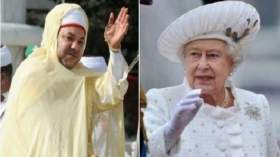 صحيفة: ملكة بريطانيا من نسل الرسول وابنة عم الملك محمد السادس