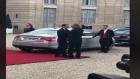 عاجل بالفيديو.. شاهد كيف ودع ماكرون الملك محمد السادس أمام الإليزي
