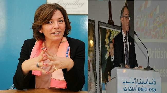 حكيم مراكشي و آسيا بنحيدة عيوش يقدّمان ترشحهما لرئاسة الاتحاد العام لمقاولات المغرب