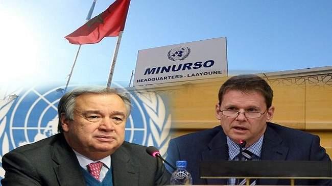 أزمة المنطقة العازلة.. رئيس مينورسو يسلم تقريره السنوي لغوتيريس