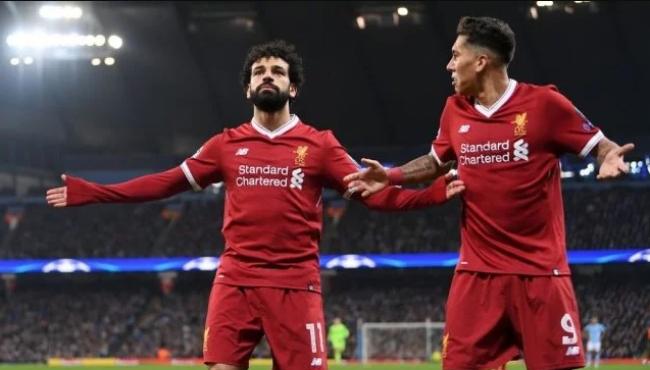 """""""الفرعون صلاح"""" يكتب تاريخ ليفربول في دوري أبطال أوروبا"""