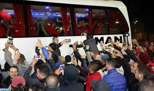 شعار حافلة المنتخب المغربي في المونديال.. الفيفا يطرح استفتاءا للجمهور
