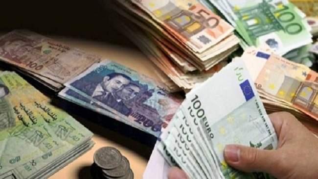 ارتفاع هام للدرهم أمام الأورو وانخفاض مقابل الدولار