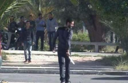 اعتقالات ومداهمات لاعتقال المتهمين بقتل طالب بابن زهر