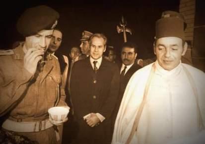 هكذا أعاد الحسن الثاني معمر القذافي إلى طائرته وتركه محتجزا