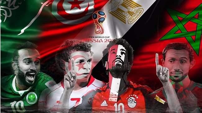 """""""الأسود فخر المغرب"""" و """"يا روسيا جاوك النسور"""".. الـ''فيفا'' يعلن الشعارات الرسمية للمنتخبات"""