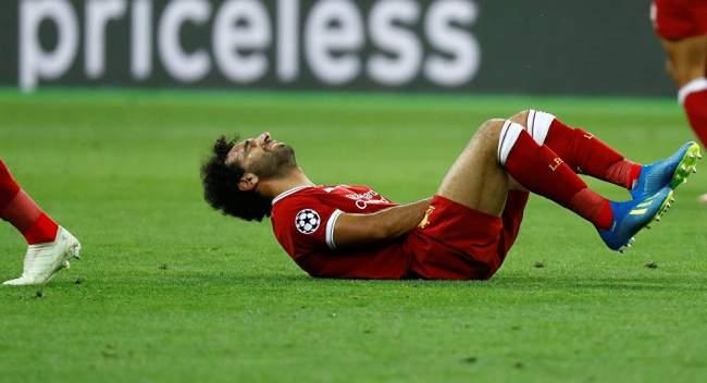 هداف ليفربول صلاح يخرج مصابا في نهائي دوري الأبطال