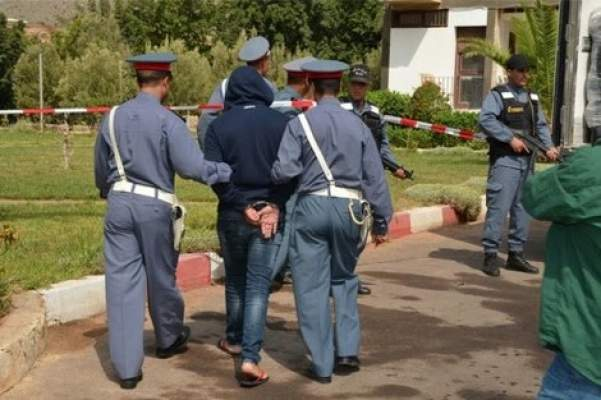 """بعد مطاردة هـوليودية .. درك مراكش يضع حدا للمجرم الخطير الملقب ب""""ولد الشعب """""""
