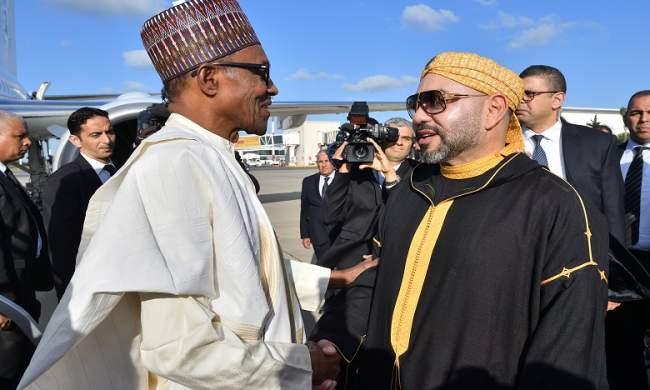 زيارة رئيس نيجيريا للمغرب تقلق الجزائر وترد على مشروع نقل الغاز!