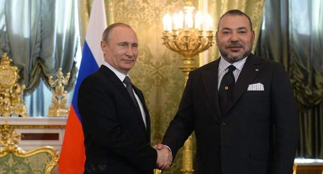 تفاصيل رسالة الملك محمد السادس إلى رئيس روسيا