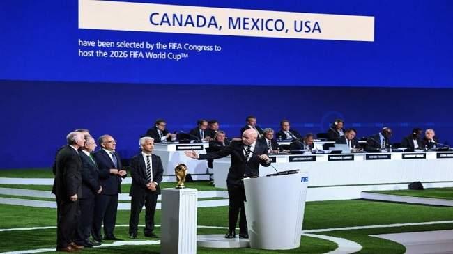 الملف الأمريكي يفوز باستضافة مونديال 2026