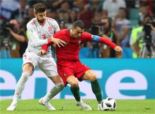 فيديو: رونالدو يمكن البرتغال من تعادل مثير أمام إسبانيا