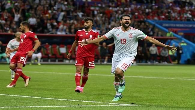 الماتادور الاسباني يتجاوز إيران والتأهل رهين بمباراة المغرب