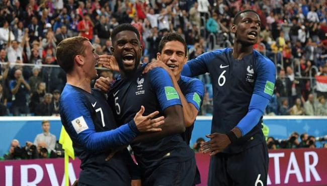 فرنسا تتأهل إلى نهائي كأس العالم روسيا على حساب بلجيكا