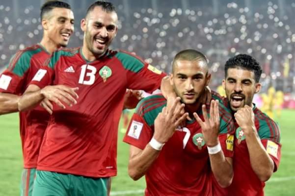 موقع مصري : المنتخب المغربي الأفضل عربيا في كاس العالم روسيا 2018