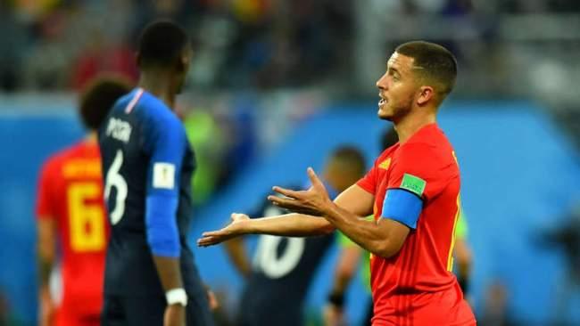 بعد الخسارة في نصف النهائي .. نجم منتخب بلجيكا يهاجم المنتخب الفرنسي