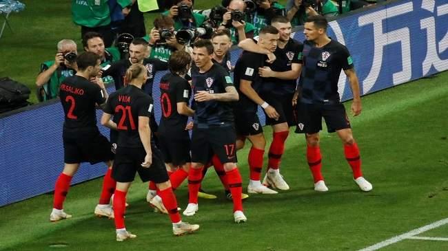 كرواتيا تتجاوز إنجلترا وتصل لنهائي كأس العالم لأول مرة