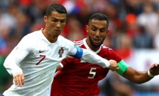 رونالدو يكشف عن علاقته مع نجم المنتخب المغربي بنعطية