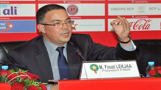 """لقجع ينتقد تقنية """"VAR"""" ويقول: لم تخدم مصالح الكرة المغربية"""