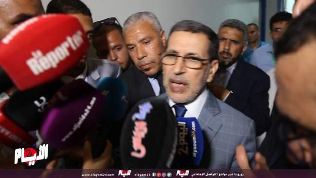رد فعل العثماني بعد إعفاء الوزير محمد بوسعيد
