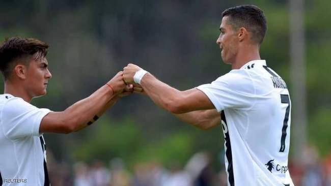 رونالدو يسجل أولى أهدافه بقميص يوفنتوس الإيطالي