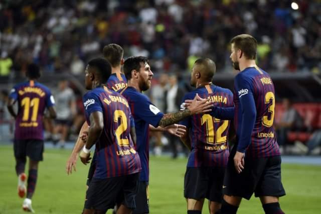 برشلونة يقهر إشبيلية ويتوّج بكأس السوبر الإسباني في المغرب
