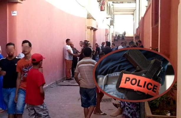 الدار البيضاء..ضابط شرطة يطلق النار في تدخل أمني وهذا ماحدث!
