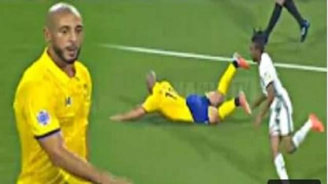 بالفيديو..أداء رائع للمغربي أمرابط في أول مباراة رسمية مع النصر