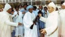 فيديو تاريخي..عندما أعلن الحسن الثاني عزم المغرب إسترجاع وادي الذهب